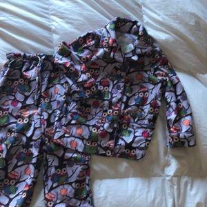 2t fleece pajamas 2 piece